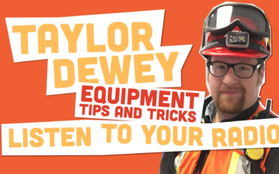 Equipment Tips and Tricks: Listen to your Radio