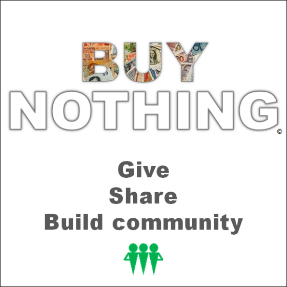 The Buy Nothing Project